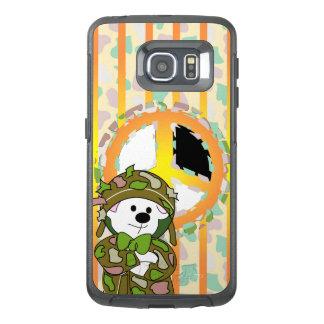 くまの兵士のSamsungの銀河系S6の端 オッターボックスSamsung Galaxy S6 Edgeケース