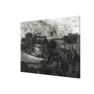 くまの庭1647年 キャンバスプリント
