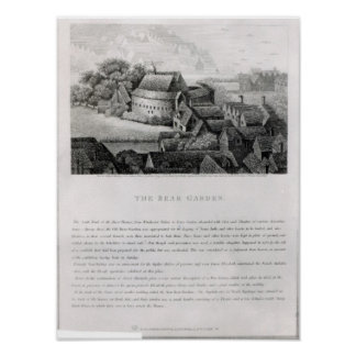 くまの庭1647年 ポスター