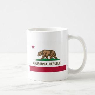くまの旗-カリフォルニア州の旗 コーヒーマグカップ