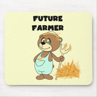 くまの未来の農家のTシャツおよびギフト マウスパッド