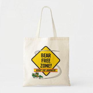 くまの自由地帯の予算のトート トートバッグ