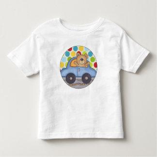 くまの運転 トドラーTシャツ