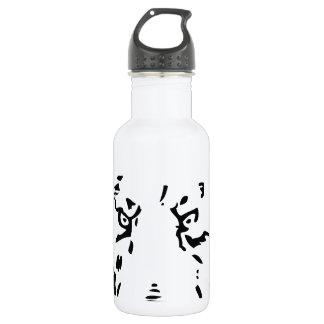 くまの顔の輪郭 ウォーターボトル