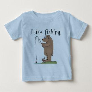 くまはI採取のTシャツおよびギフトを好みます ベビーTシャツ