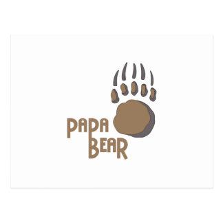 くま足のパパ ポストカード