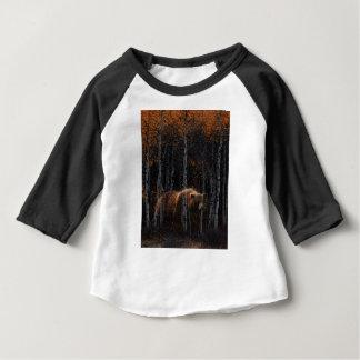 くま3 ベビーTシャツ