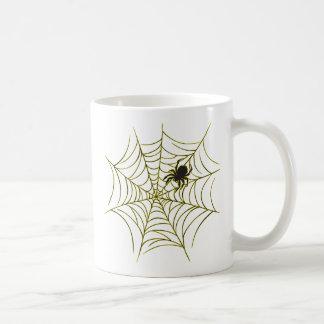 くもおよびくもの巣 コーヒーマグカップ