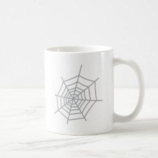 くものクモの巣のspiderweb コーヒーマグカップ