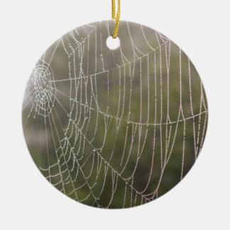 くものクモの巣 セラミックオーナメント
