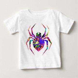 くものコラージュ ベビーTシャツ