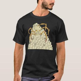 くものスカル Tシャツ