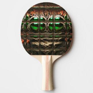くものモザイク 卓球ラケット