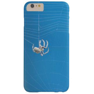 くもの巣を回しているタンの小さく白いくも BARELY THERE iPhone 6 PLUS ケース