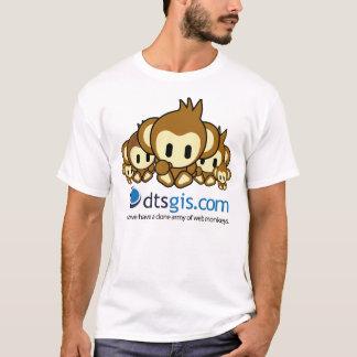 くもの巣猿 Tシャツ