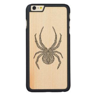 くもの落書き CarvedメープルiPhone 6 PLUS スリムケース
