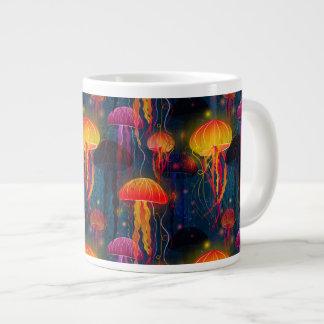 くらげのダンス ジャンボコーヒーマグカップ