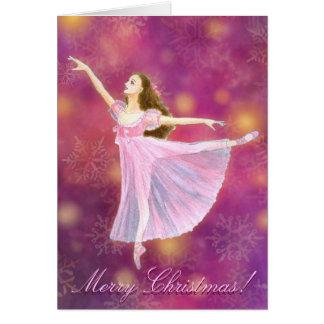 くるみ割りのクララの休日の挨拶状 カード