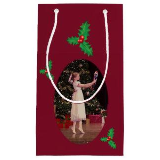 くるみ割りのクリスマスのバレエ スモールペーパーバッグ