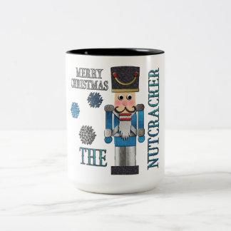 くるみ割りのクリスマスのマグ ツートーンマグカップ