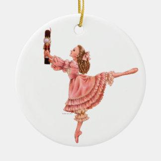 くるみ割りのバレエの円形のオーナメント セラミックオーナメント