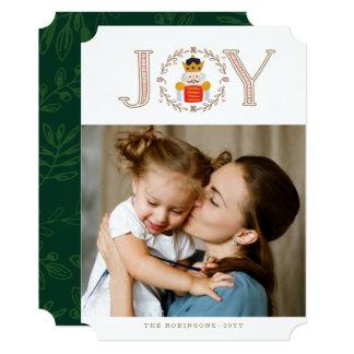 くるみ割りの王子Holiday Photo Card カード