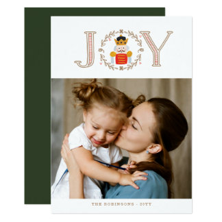 くるみ割りの王子Holiday Photo Cards カード