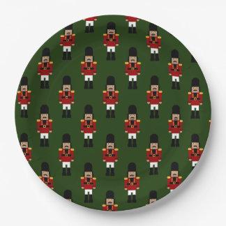 くるみ割り-紙皿 ペーパープレート