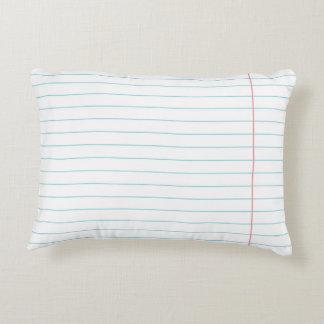 けい紙の枕 アクセントクッション
