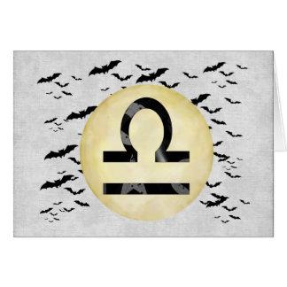 こうもりの月の天秤座 カード
