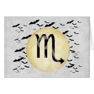 こうもりの月の蠍座 カード