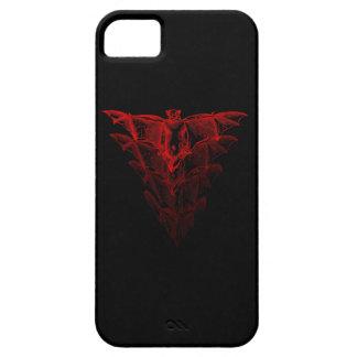 こうもりの赤いiPhone 5の箱 iPhone SE/5/5s ケース