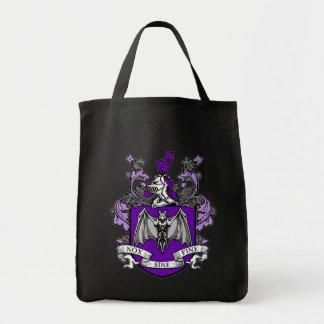 こうもりの頂上の紫色-バッグ トートバッグ