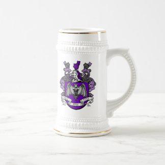 こうもりの頂上の紫色-マグ ビールジョッキ