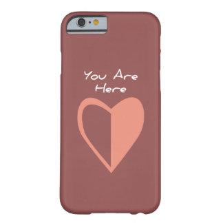 ここにいます(今) BARELY THERE iPhone 6 ケース