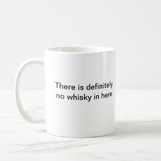ここにのウィスキーは襲いません コーヒーマグカップ