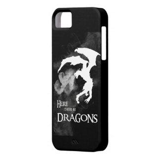ここにドラゴンのiPhoneの場合があります iPhone SE/5/5s ケース