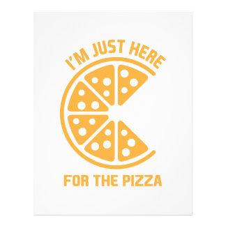 ここにピザのために レターヘッド