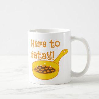 ここにフライパンとのSATAYに コーヒーマグカップ