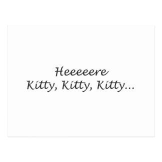 ここに子猫の子猫の子猫 ポストカード