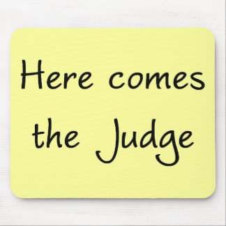 ここに裁判官のマウスパッドを来ます マウスパッド