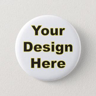 ここのあなたのデザイン 5.7CM 丸型バッジ