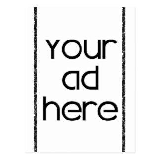 ここのあなたの広告 ポストカード