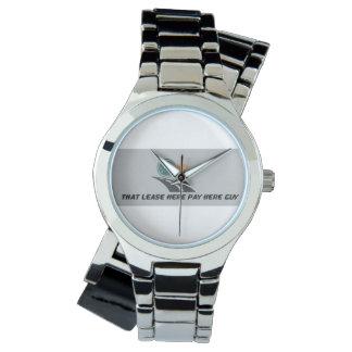 ここのその賃貸借契約は人の腕時計をここに支払います 腕時計