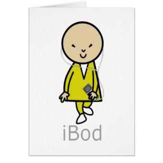 ここのボブはBodのiBod IPodを来ます カード