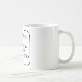 ここの労働者は… MOBNOXIOUSです コーヒーマグカップ