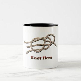 ここの結び目の-マグ ツートーンマグカップ