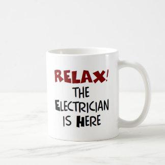ここの電気技師 コーヒーマグカップ