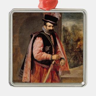 こっけい者は「オーストリアのドンジュアン」、c.1632/35名前を挙げました メタルオーナメント