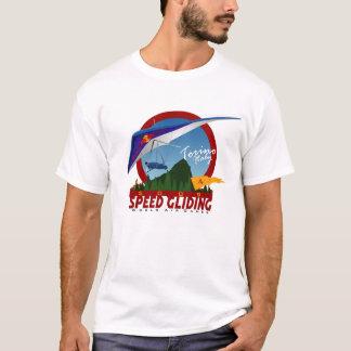 こつの速度のすべること Tシャツ